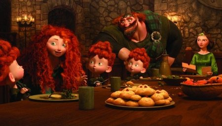 Una escena familiar de la película Brave (Indomable)