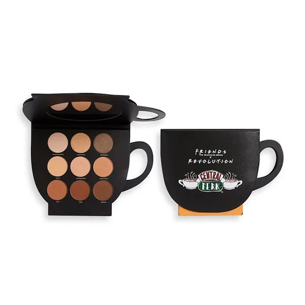 REVOLUTION Friends Limited Edition Grab A Cup Shadow Palette
