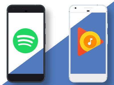 Cómo descargar música de Spotify o Google Play Music en tu móvil