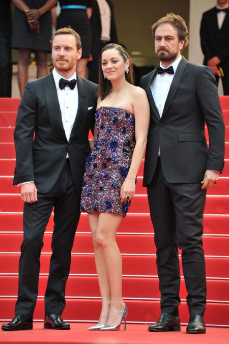 Michael Fassbender en el Festival de Cannes