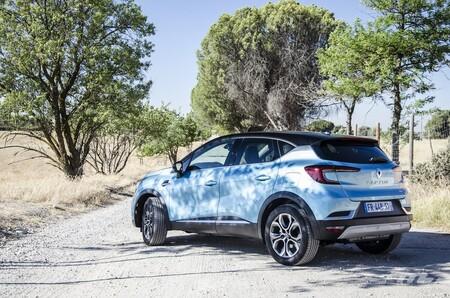 Renault Captur E-Tech híbrido enchufable etiqueta CERO