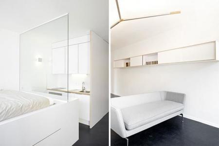 remodelación de un apartamento de 35 metros cuadrados