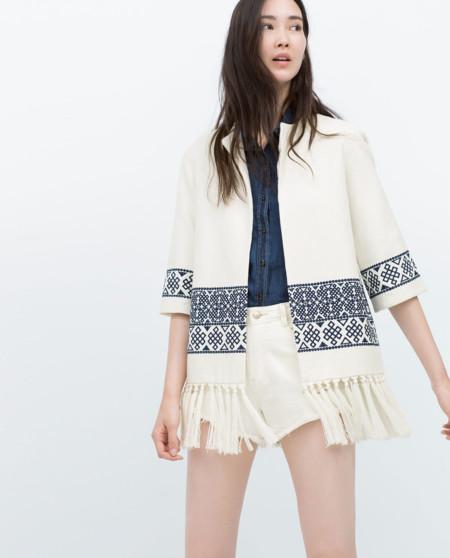Si buscas el kimono perfecto, Zara es tu destino