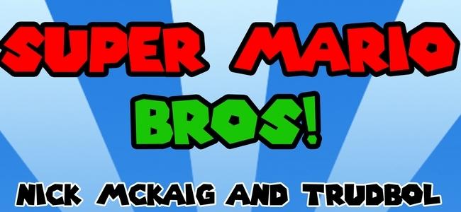 Super Mario Bros. a capela por Nick McKaig y Trudbol