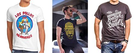 Camisetas Breaking Bad