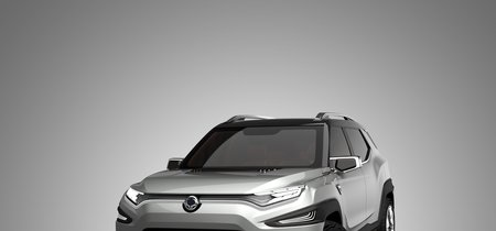 Con siete plazas y aires de Korando, el Ssangyong XAVL anticipa el futuro SUV coreano