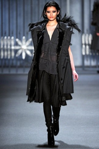 Vera Wang abrigo