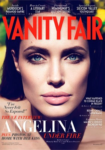 Hay miradas que matan y luego las de Angelina Jolie
