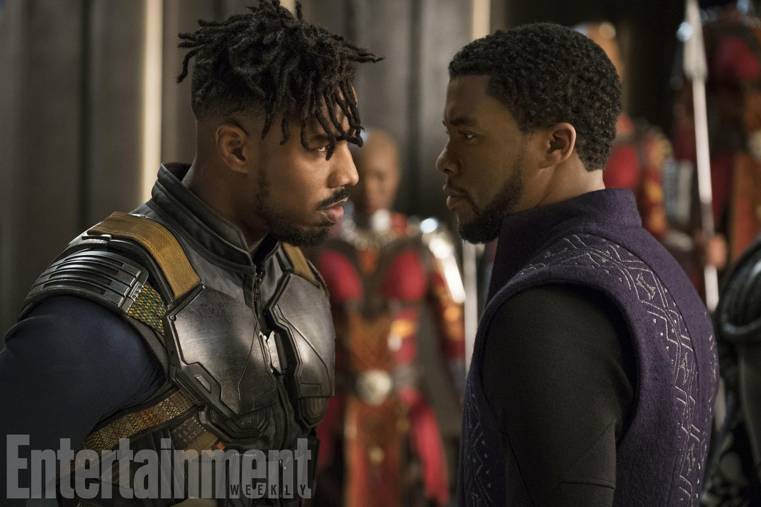Foto de Nuevas imágenes oficiales de 'Black Panther' (9/20)