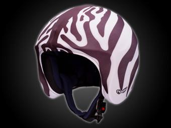 helmetdress zebra