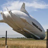 El gigantesco Airlander 10 se estrella una semana después de su primer vuelo