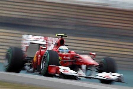 Fernando Alonso quinto en los libres 3 del GP de China 2010