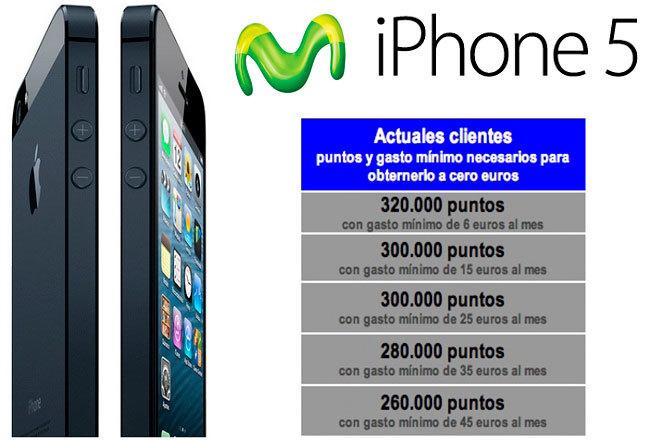 iPhone 5 Movistar