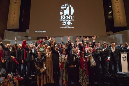 World S 50 Best Restaurants Group Photo