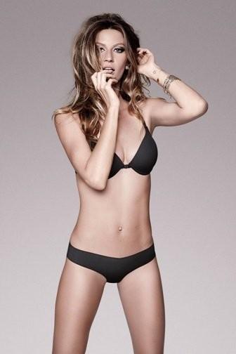 Las fotos más picantes de Gisele Bündchen en ropa interior después de su embarazo