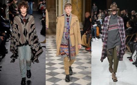 Tendencia Boho Nomada Moderno Otono Invierno Trendencias Hombre 2016