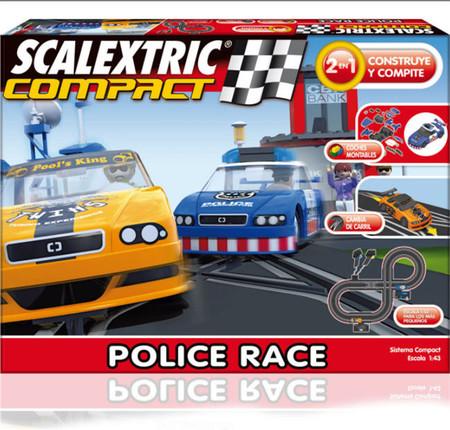 Las nuevas pistas de Scalextric Compact son más reducidas y los coches se pueden personalizar