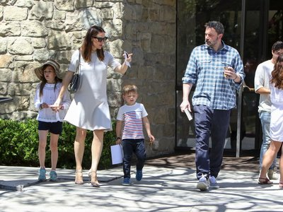 Ben Affleck y Jennifer Garner: divorciados pero juntos por vacaciones