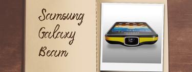 Móviles con los que flipaste en su día: Samsung Galaxy Beam