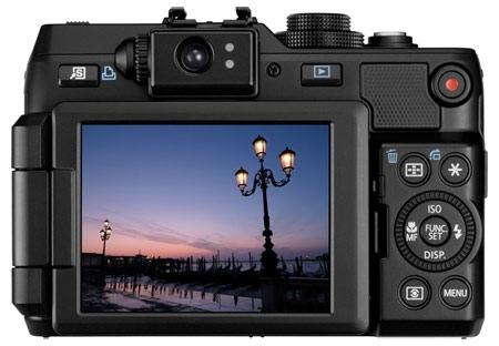 Canon G1 X pantalla