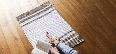 Con la nueva fibra The Tape de We Are Knitters, decorar tejiendo en plan DIY es fácil para todos