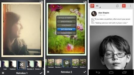 Llegan a la app de Google+ filtros para fotos en iOS y otras