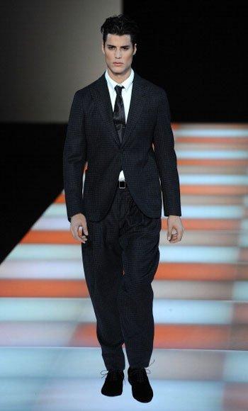 Giorgio Armani Otoño-Invierno 2012/2013 en la Semana de la Moda de Milán