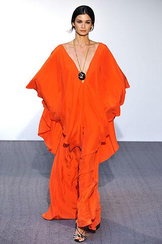Halston en la Semana de la Moda de Nueva York colección primavera/verano 2009