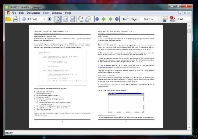lector pdfs: