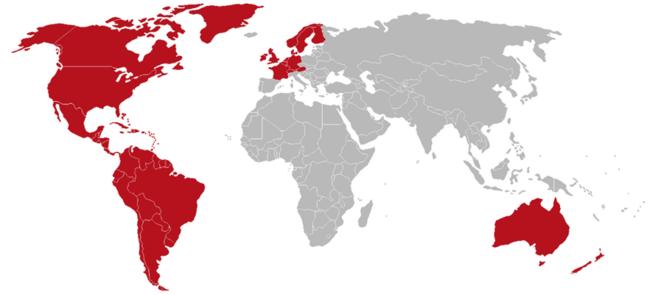 Mapa Netflix