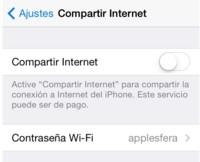 iOS 7.1 impide compartir Internet a muchos usuarios