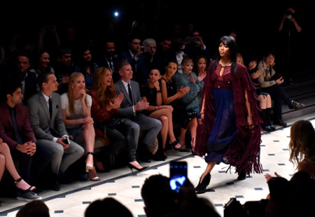 Naomi Campbell Burberry London In Los Angeles