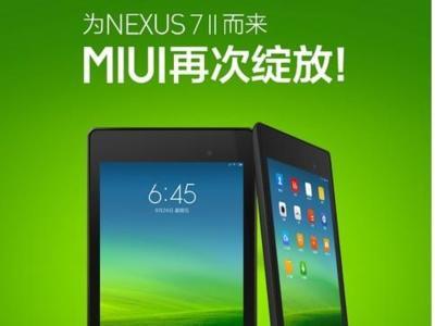 Xiaomi lanza MIUI para tablets, ya compatible con los Nexus 7