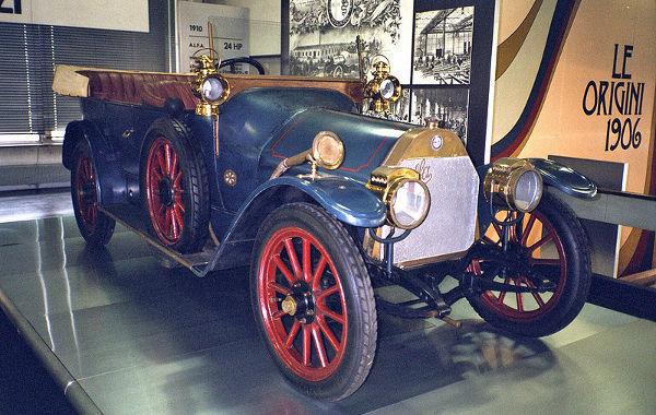 Alfa Romeo 24 HP de 1910