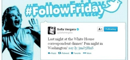 #Follow Friday de Poprosa: Cuando las celebrities cenan con el presidente