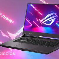 Este portátil gaming sigue siendo un chollo 260 euros más barato en PcComponentes: ASUS ROG Strix G513IH HN008 por 889 euros