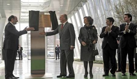 Reyes inauguran Torre iberdrola