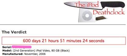 ¿Cuándo morirá tu iPod?