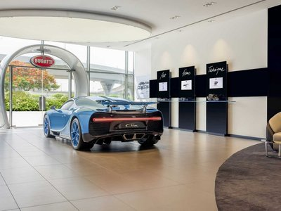 Ya puedes configurar tu Bugatti Chiron en el mayor concesionario de su historia: tenía que ser Dubái