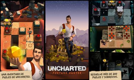 Uncharted: Fortune Hunter, Nathan Drake se estrena en Android con un juego de puzles