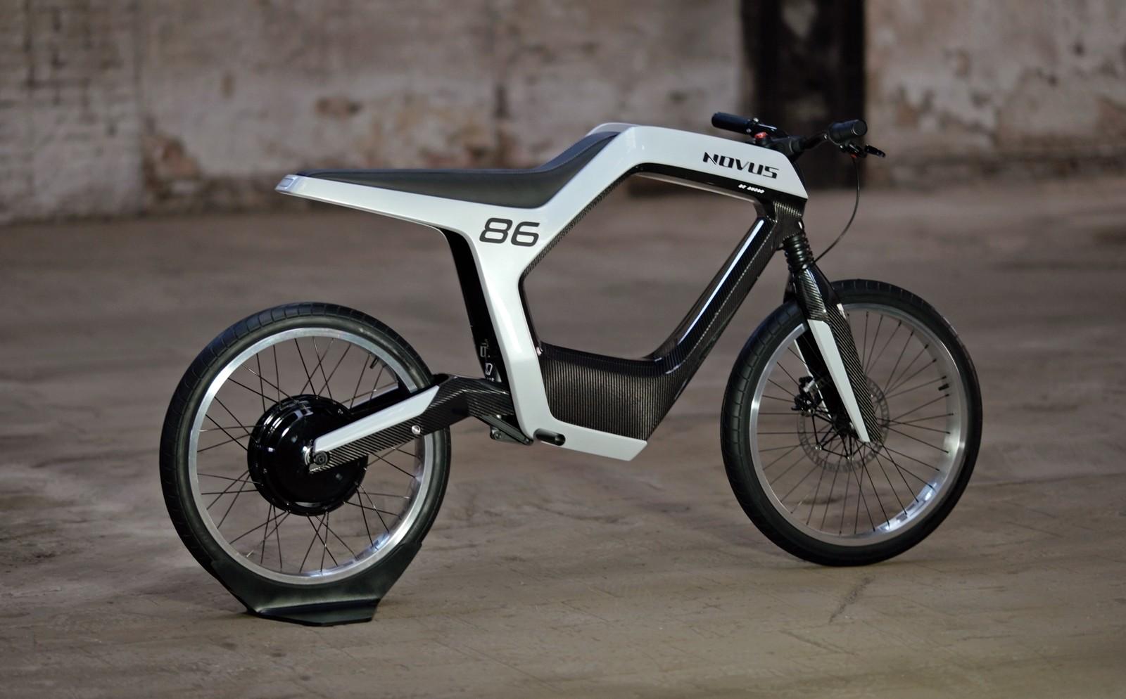 Foto de Novus moto eléctrica (3/7)