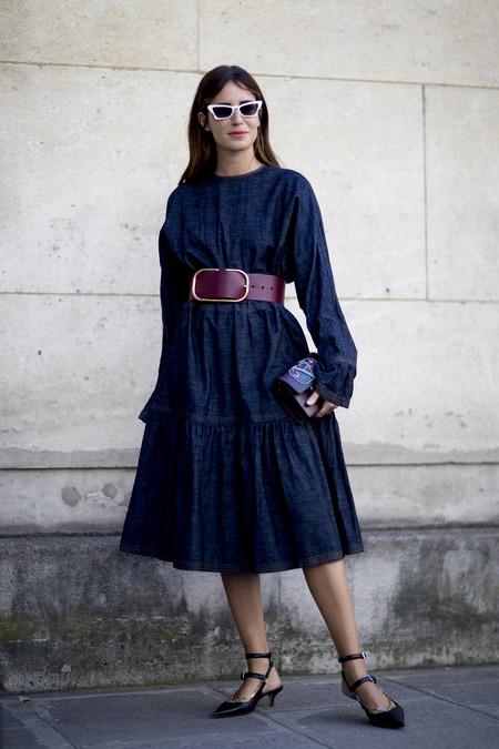 Como Combinar Un Vestido Azul Marino 18