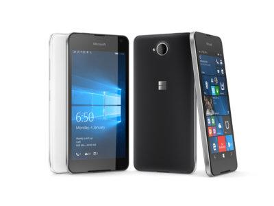 Microsoft presentó el Lumia 650, el nuevo teléfono económico de la compañía