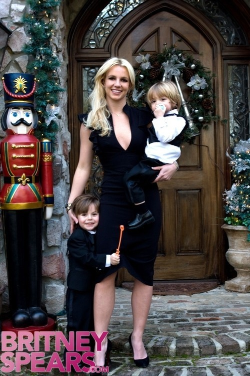 Foto de Britney Spears con sus hijos (1/5)