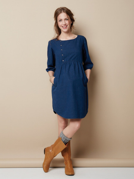 envío gratis 16e2b 0aad8 8 vestidos premamá para dar la bienvenida al otoño