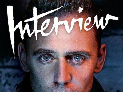 Tom Hiddleston, en cueros para Interview Magazine y con Benedict Cumberbatch preguntando