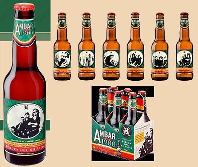 Cerveza Ambar 1900, Edición Especial Héroes del Silencio