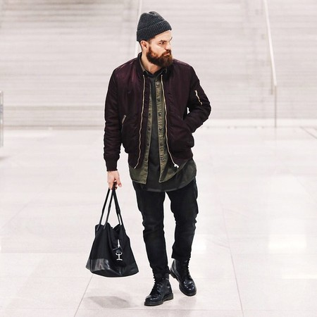 El Mejor Street Style De La Semana El Renacer De La Bomber Jacket Retoma Las Calles 10