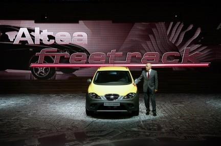 Presentación del Seat Altea Freetrack en el Salón de Barcelona