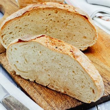 Cómo hacer pan de hogaza casero. Receta sencilla